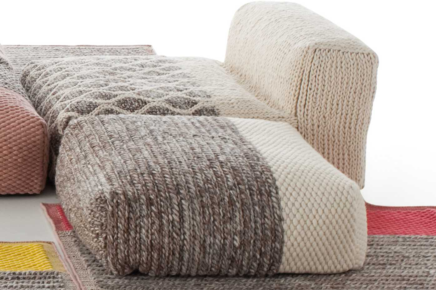 Mangas Space Poufs by Gan Rugs product image 2