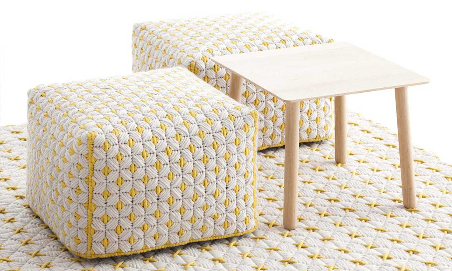 Silai Poufs by Gan Rugs product image 6