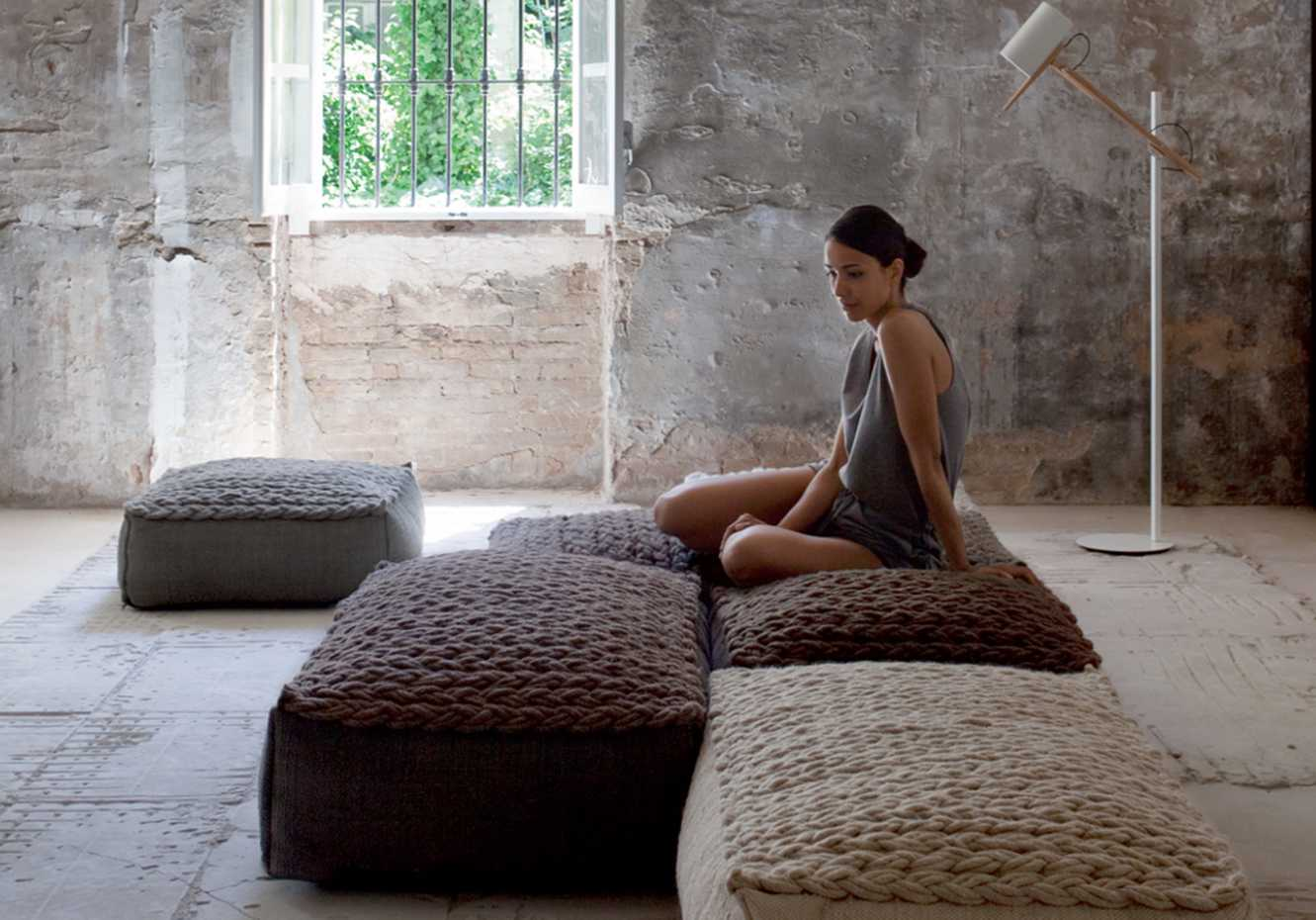 Trenzas Poufs by Gan Rugs product image 3