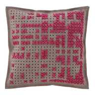 Canevas Cushion Pink