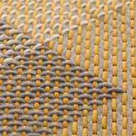 Canevas Geo Rug Yellow