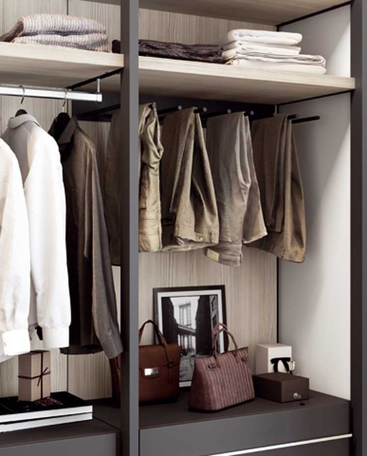 Walk-in Wardrobe with Framed Side by Mercantini product image 8