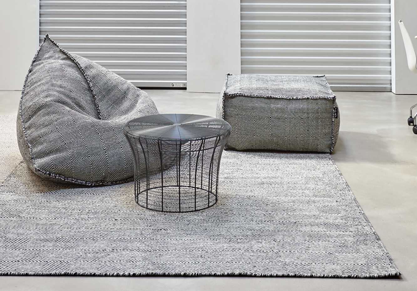 Sail Square Pouf by Gan Rugs product image 3