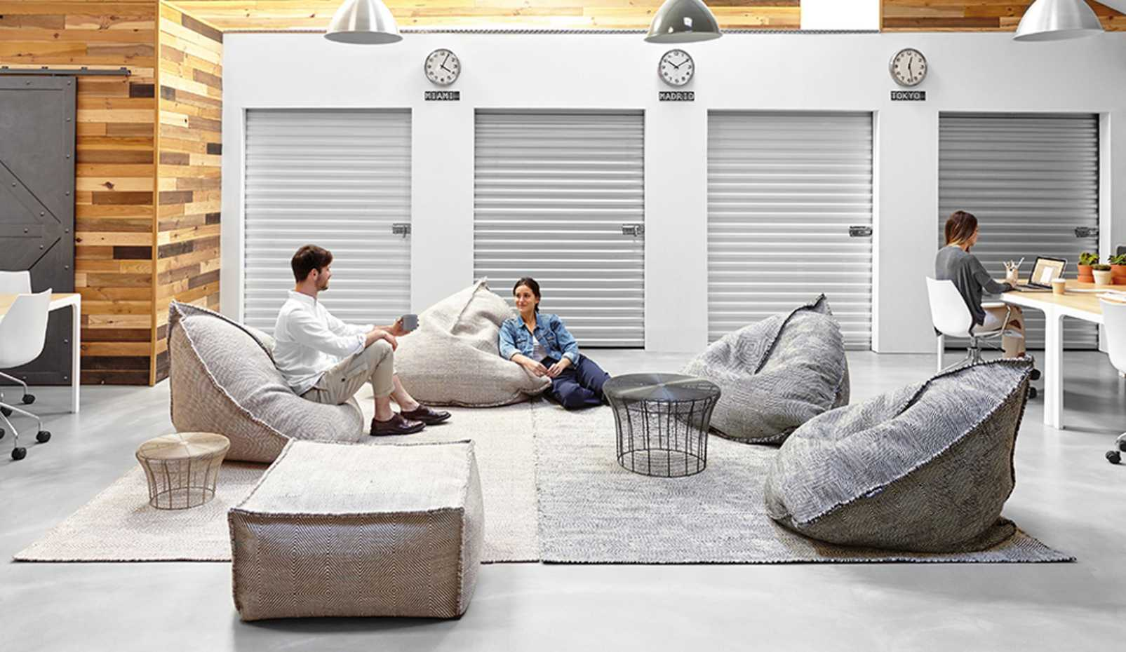 Sail Square Pouf by Gan Rugs product image 2